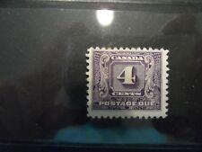 CANADA #J8 1930-32 POSTAGE DUE F/VF UNUSED MNG