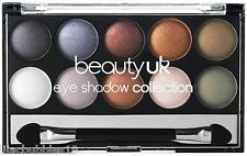 BEAUTY UK EARTH CHILD NO.4 EYESHADOW COLLECTION BROWN/NEUTRAL SHADES NEW SEALED