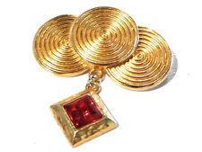 Bijou broche de créateur alliage doré broche breloques maroussia brooch