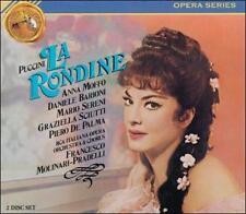 Giacomo Puccini: La Rondine 2 CD Set Opera Moffo Barioni Sereni Sciutti 1966