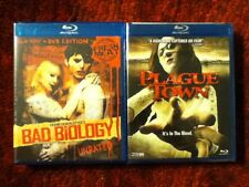 Bad Biology with James Glickenhaus + Plague Town with Erica Rhodes : New Blu-ray