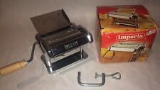 IMPERIA TITANIA SP150 PASTA MAKER W/CLAMP ORIGINAL BOX EUC