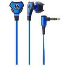 Audio-Technica ATH-CHX5 SonicFuel Hybrid Earbud In-Ear Headphones, Blue
