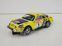 Slot Car SCX Scalextric Altaya Renault Alpine A110 #5 Rally San Remo 1975