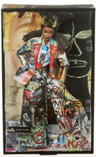Mattel GHT73 Barbie for Jean-Michel Basquiat NEW Limited Edition Collectable