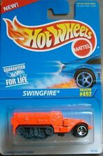 Hotwheels 1995 Die Cast Collector # 492  Swingfire  Orange & Black
