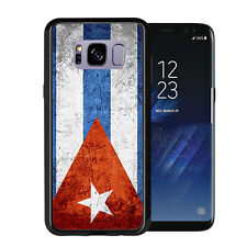 Cuban Flag Grunge For Samsung Galaxy S8 2017 Case Cover by Atomic Market