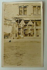 RPPC REAL PHOTO POSTCARD OLD COUNTRY STORE LOCATED SOMEWHERE IN OHIO