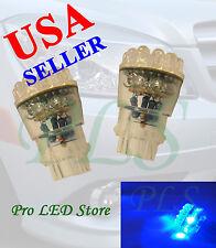 3157 3057 Super Blue 24 LED Backup Reverse Stop Lights