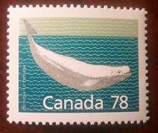 Canada #1179b, 78c Beluga Whale, perf 13.1