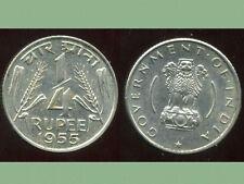 INDE 1/4  rupée  1955