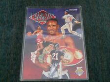 LEGENDS SPORTS MEMORABILIA GUIDE   OFFICIAL PROGRAM  13TH NSCC   HOLYFIELD