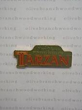 JDS 1999 Japan Disney Store TARZAN MOVIE TITLE Walt Disney Pictures Presents Pin