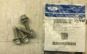 4 PACK 2013-2018 Ford C-Max OEM Motor Mount Bolt W503295-S439