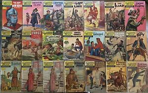 CLASSIC ILLUSTRATED #2 TO #158 - 1ST EDITIONS HRN'S PRESENT JUNIOURS SPECIALS