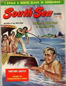 South Sea Stories Jan 1962 Schneider Cvr, The Lonely Women of Lesbos Island
