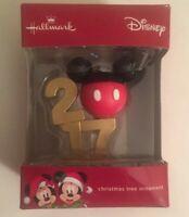 Hallmark Disney Mickey Mouse Icon 2017 Christmas Tree Decoration Ornament (RARE)