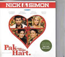 Nick&Simon-Pak Van Mijn Hart cd single