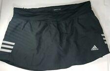 Adidas Response Climate Tennis Skirt Skort Black Womens Medium