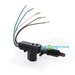 Car Central Door Lock Actuator Auto locking Motor Gun Universal Type 5 Wire