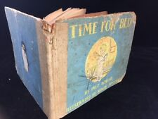 VINTAGE 1939 TIME FOR BED CHILDREN'S BOOK BY INEZ BERTRAIL
