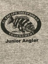 El Cheapo Sheepshead Junior Angler Fish Tournament Mayport FL T-Shirt Youth Sz S