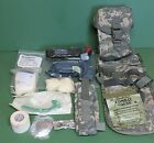 US Military Issue Army ACU Camouflage MTO Individual First Aid Kit IFAK Gen II