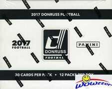 2017 Donruss Football JUMBO FAT Pack Box-360 Cards! 48 Parallels! MAHOMES RC YR