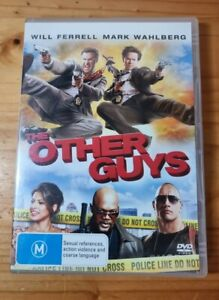 The Other Guys Will Ferrell Mark Wahlberg DVD R4  M FREE POSTAGE COMEDY