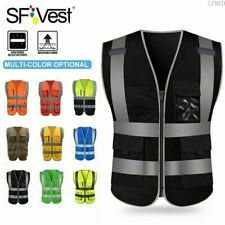 Sfvest Visibility Reflective Safety Vest For Construction Site Road Car Work