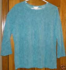 C J BANKS Women's Top NWT Size X or 14W 3/4 Sleeve Pullover