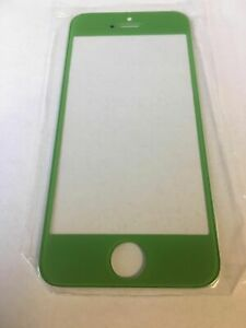 New Cell Phone Replacement Front Screen Glass Choose Color - Apple iPhone 5