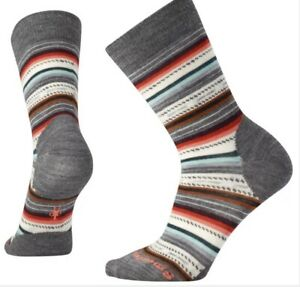 Brand New Women's Smartwool Margarita Crew Socks Sz Medium $21.95 Value