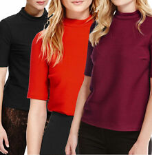 Marks and Spencer Hip Length Polyester T-Shirts for Women
