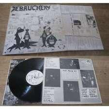 DEBAUCHERY - The Ice Rare UK LP Punk Hardcore 1988