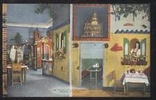 Postcard MADISON Wisconsin/WI  Italian Village Restaurant Dual view 1930's