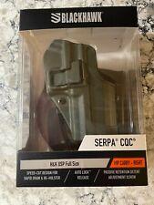 BlackHawk Serpa CQC H & K USP Full Size Holster, Od Green, 410514OD-R Brand New