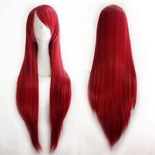 USA New Cosplay Full Head Bang Wig Heat Resistant Hair Real Natural 25 Color h5