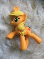 AS IS My Little Pony Applejack Mini Vinyl Figure for OOAK Repaint Reroot