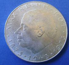 1973 Austria Oostenrijk 25 Schilling Silver Max Reinhardt KM# 2915 Nice