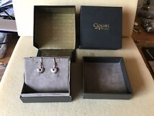 A pair of 9ct gold and silver Clogau Women's earrings