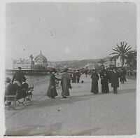 Francia Nice Costa Azure Stereo L29n11 Placca Da Lente Vintage