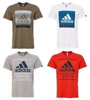 Adidas QQR Faded Tee Shirts Mens TShirt Box Text cotton T shirt