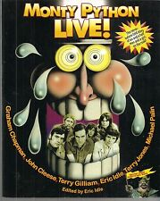 MONTY PYTHON LIVE! SOFTCOVER BOOK ($24.99, VF/NM) ERIC IDLE, JOHN CLEESE