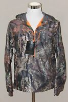 NEW NWT Men NOMAD Mossy Oak camoflauge hunting/outdoors lined zip hooded jacket