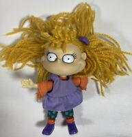 Vintage 1997 Nickelodeon Rugrats Angelica Doll Viacom Arcotoys Yarn Hair