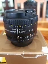 Nikon Nikkor AF 50mm f/1.8 D Lens