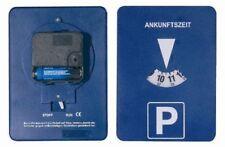 Parkuhr Parkscheibe Mitlaufend Batterie betrieben Elektronisch Run Stop Schalter