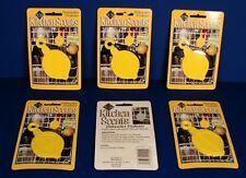 6 KITCHEN SCENTS DISHWASHER FRESHENER Hanger ODOR ELIMINATOR Lemon Scent NEW