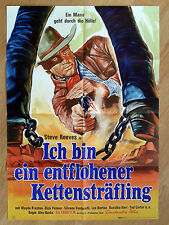Spaghetti Western:  German 1-sheet A Long Ride from Hell STEVE REEVES' last film